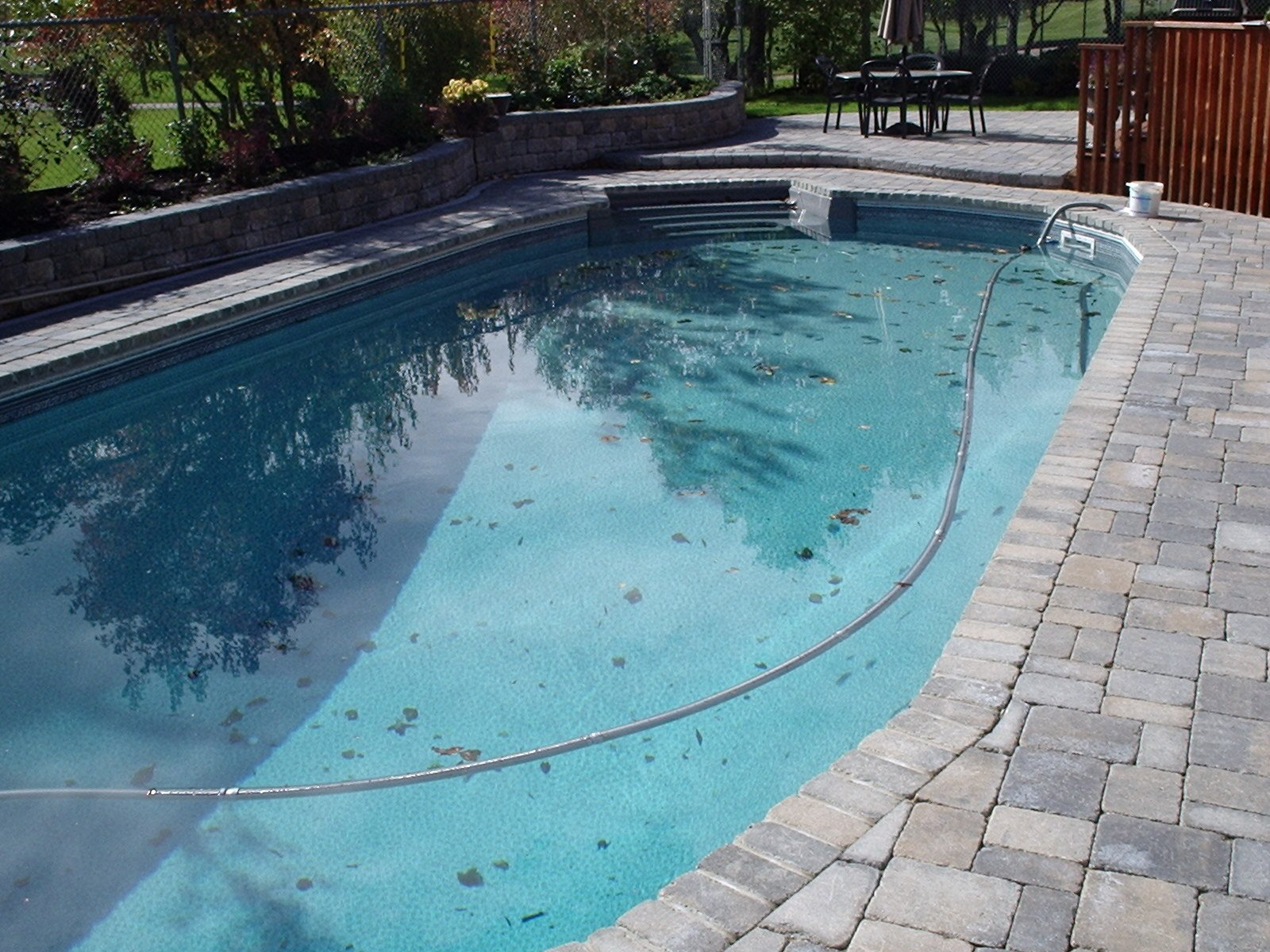 Coping removal and update pool winnipeg