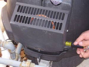 pool heater diagnostic service