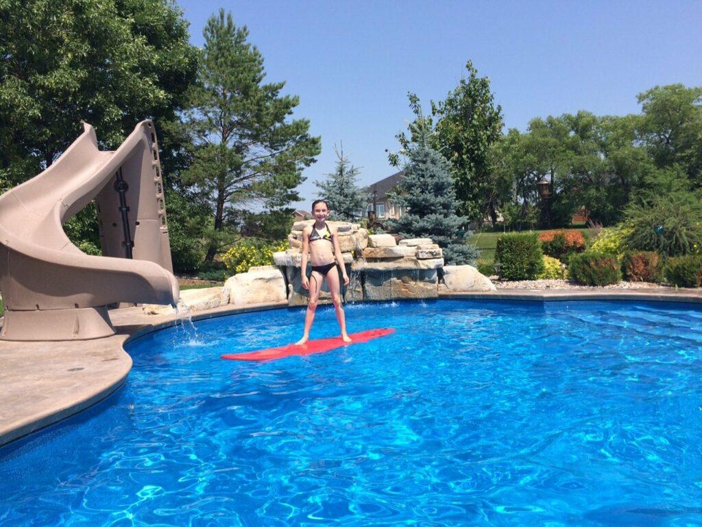 pool care is fun not work