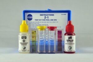 low chlorine test kit