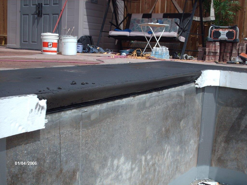 Swimming Pool Treatment Options : What swimming pool coping options are available aqua tech