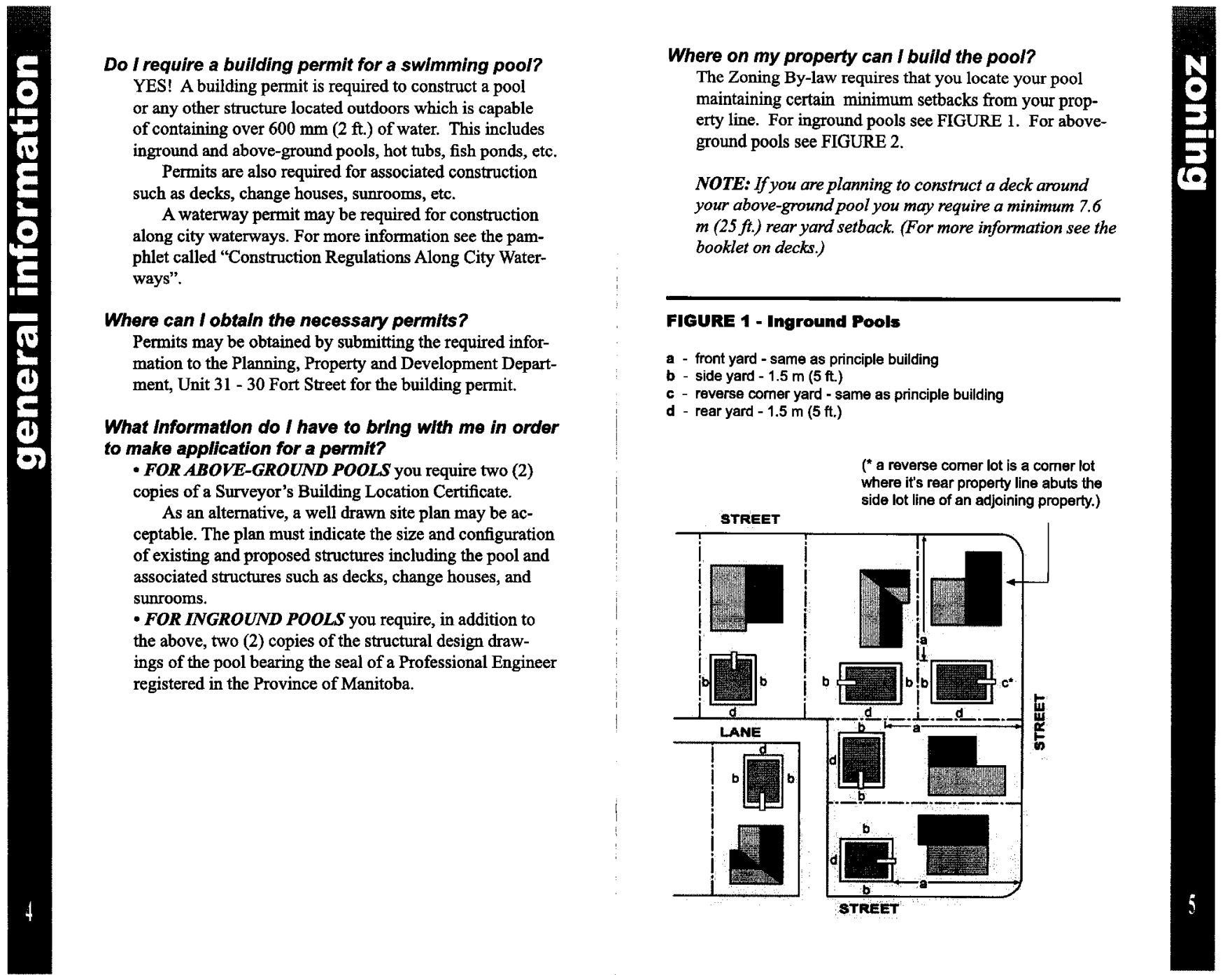 swimming pool bylaws in winnipeg aqua tech