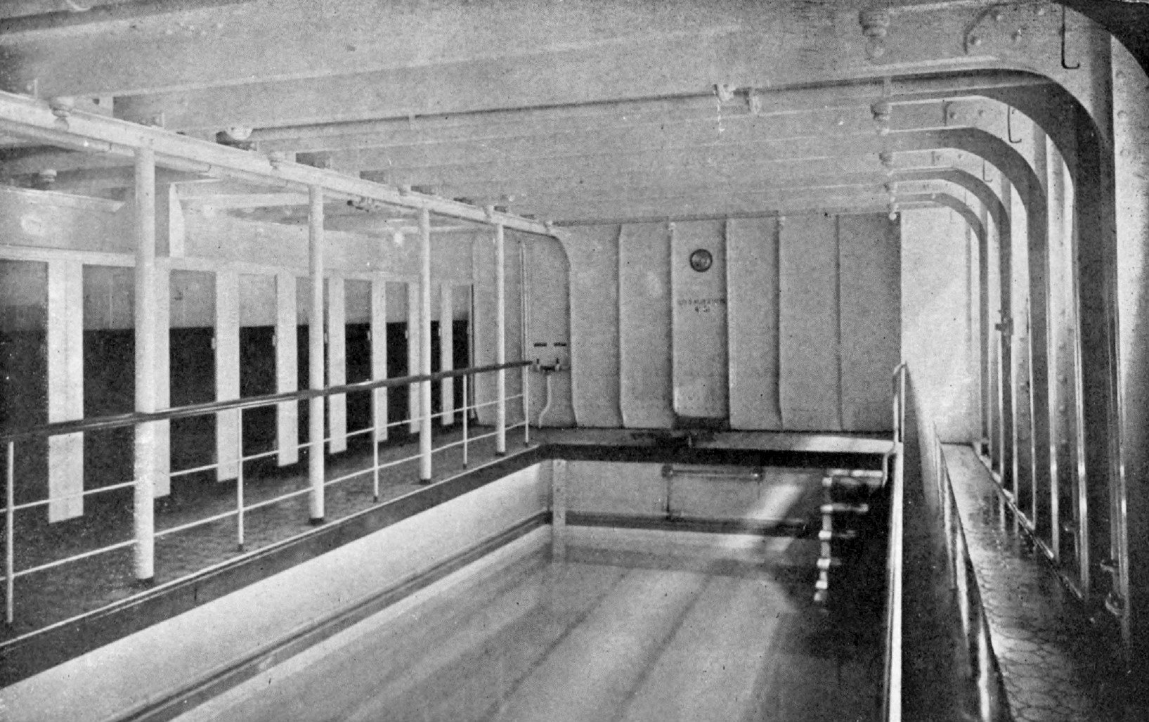 5 fun facts about pools aqua tech - Did the titanic have swimming pools ...