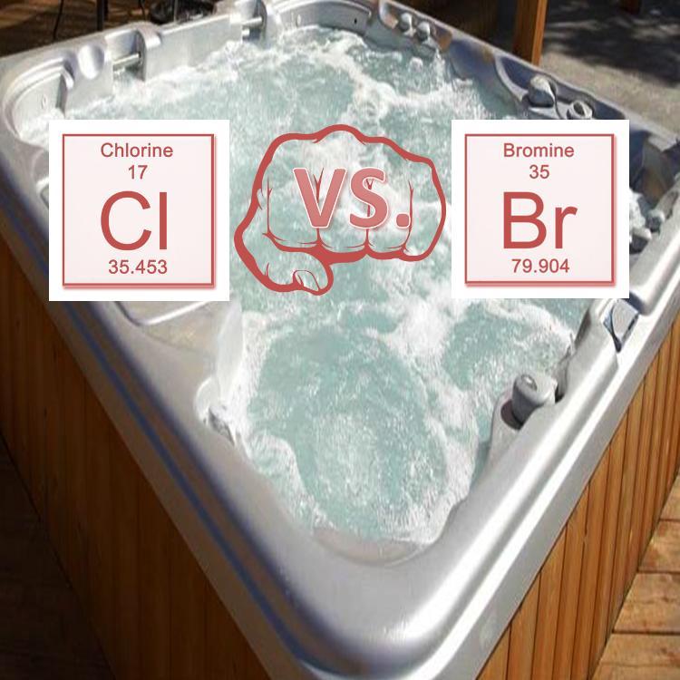bromine vs chlorine