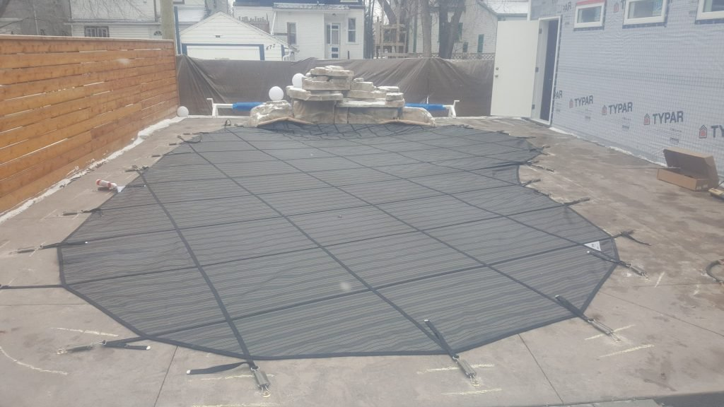 Waterfalls For Pools And Pool Safety Covers Aqua Tech